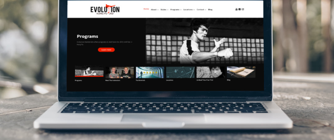 Evolution Martial Arts is excited to announce our brand new website!
